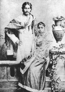 photo Tagore with wife